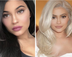 Before & After – Kylie Jenner changed hair color again